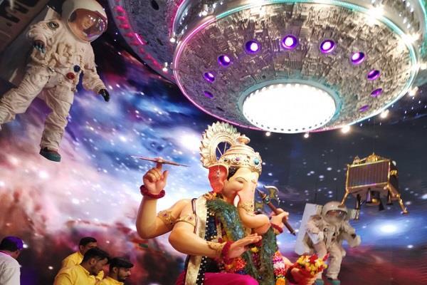 bmc fined lalbaugcha raja mandal of 60 lakh rupees