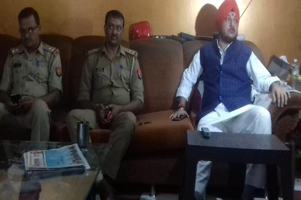 sp mla amitabh bajpai under house arrest