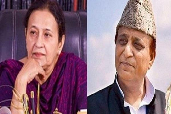 starts enquiry of milk dairy of azam khan wife tazeem