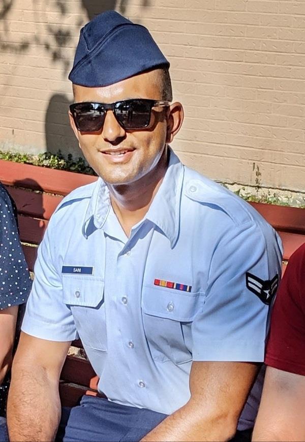 komalpreet joins us airforce