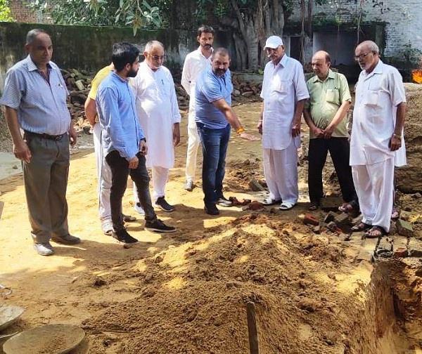 mla sushil rinku visits basti danishmanda crematorium