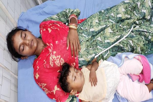 beaten up for giving birth to daughters