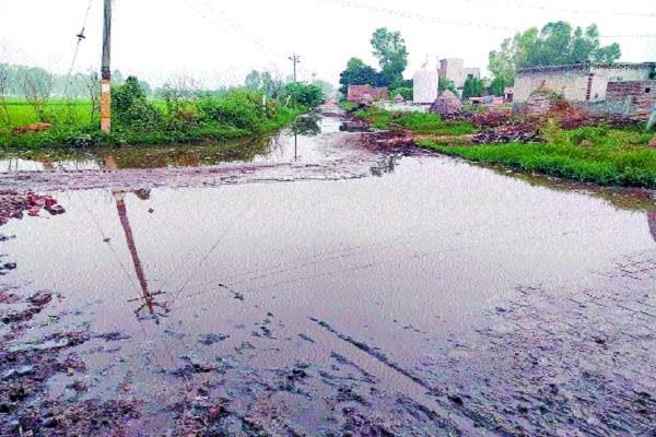fury among people over drainage problem