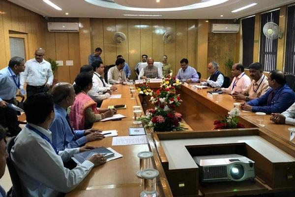 rajnath held meeting with drde officials
