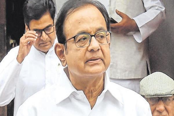chidambaram says no officer did anything wrong