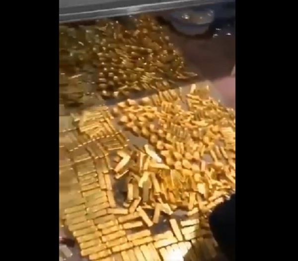 13 5 tonnes of gold found in the basement of former chinese mayor