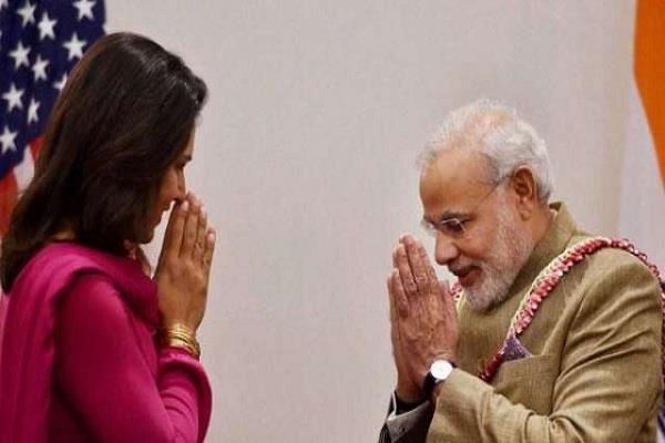 howdy modi brings together indian american and hindu american says tulsi gabbard