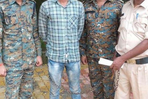 army jawan entered home and tortured minor reached jail