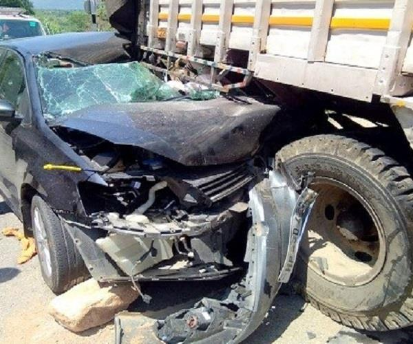one killed one injured in road accident
