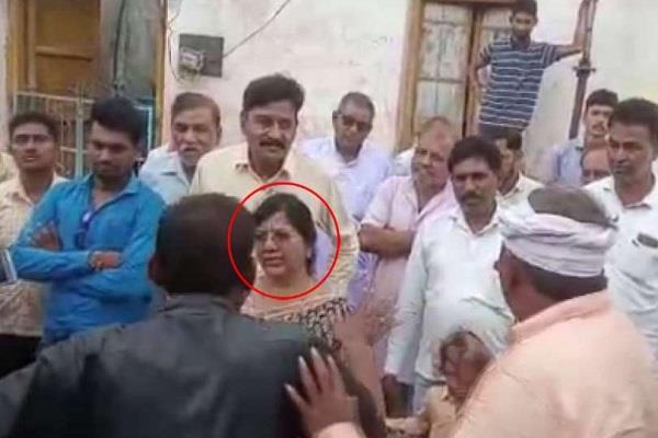 former minister taken away you suffering uproar villagers feet returned