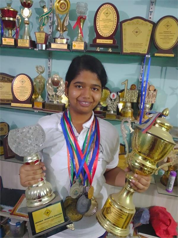 nidhi gupta selected in india carrom team