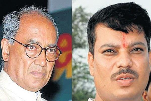 umang singhar claims digvijay singh blackmailing kamal nath government