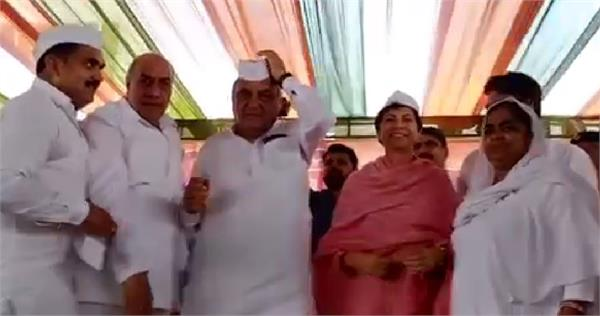 hooda and shailaja did not have brother nehru cap in 10 second