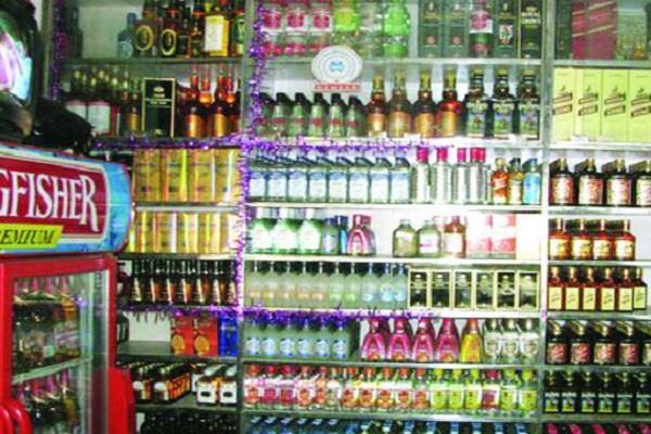 shifting liquor contract near village