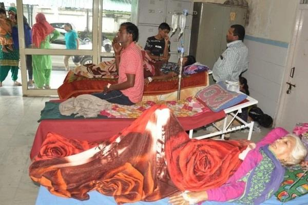1900 patients suffering from dengue in dehradun
