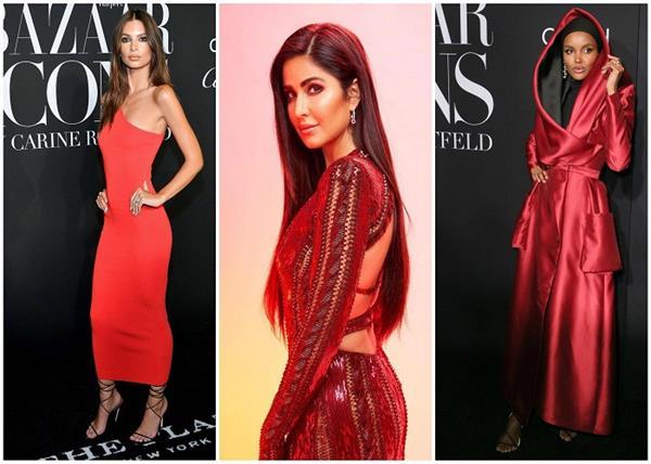 न्यूयोर्क से लेकर मुंबई तक, हसीनाओं ने दिखाया अपना 'रेड आउटफिट'