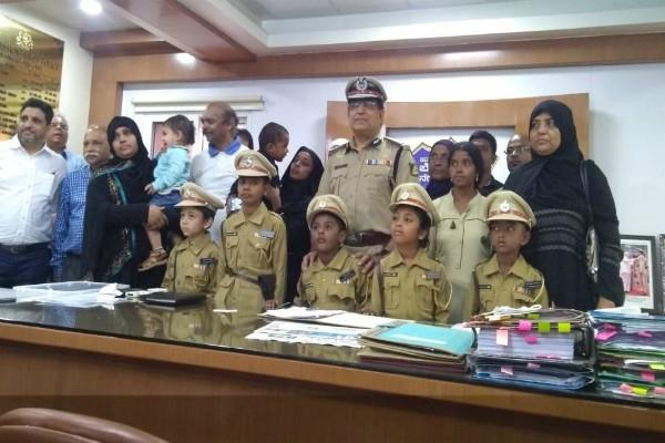 5 children make commissioner of police for 1 day