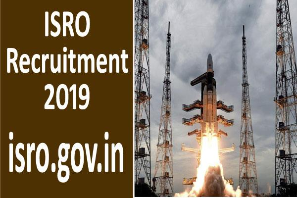 isro recruitment 2019 for 86 posts including technician