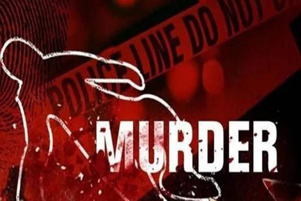 troubled by domestic discord husband murdered his wife accused arrested