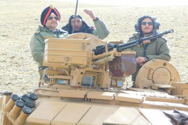 integrated exercise of the army held in eastern ladakh