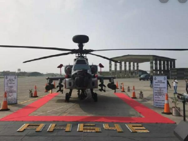 iaf to induct apache attack helicopter at pathankot air base