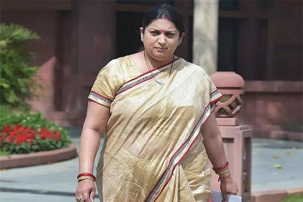 smriti irani says about nrc no indian will be missed