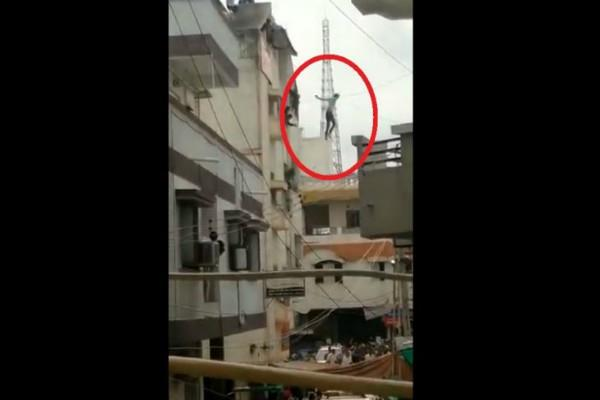 boy attempt suicide video viral