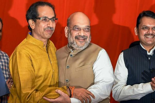 maharashtra election war between bjp and shiv sena on seat sharing
