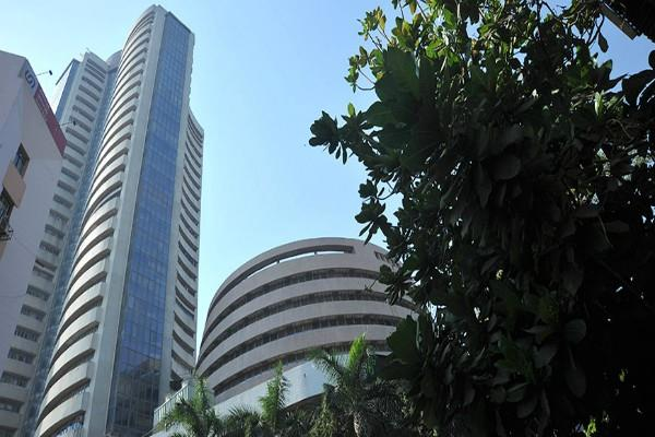 sensex rose 1075 points and the nifty closed above 11600
