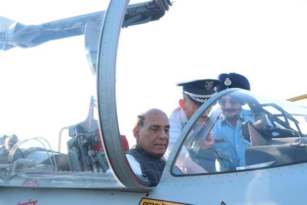 rajnath singh boarded f 15 fighter jet in japan
