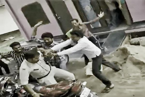 husband wife quarrel beat constable brother in law case registered