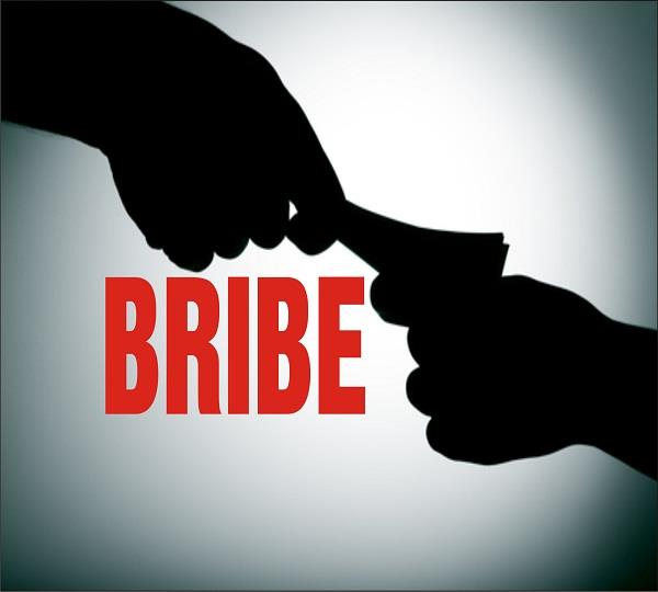 asi arrested taking bribe of rs 10 000