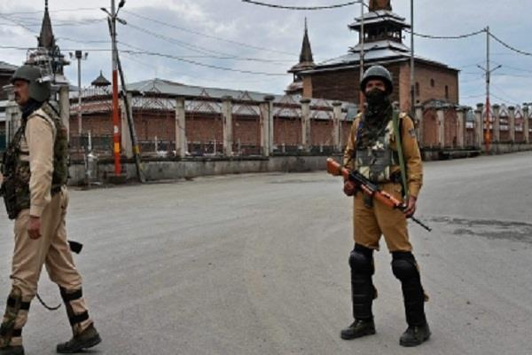 section 144 applies kashmir 56th day vehicles roads missing