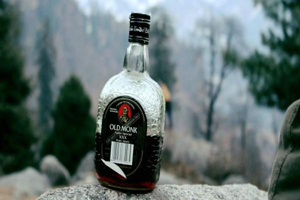 old monk rum is the first choice of the country rich person