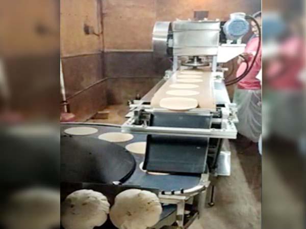 hightech chapat maker machine