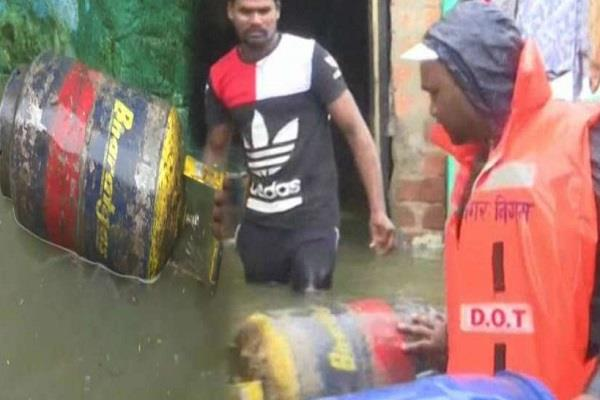 the situation worsened in mp due to heavy rains