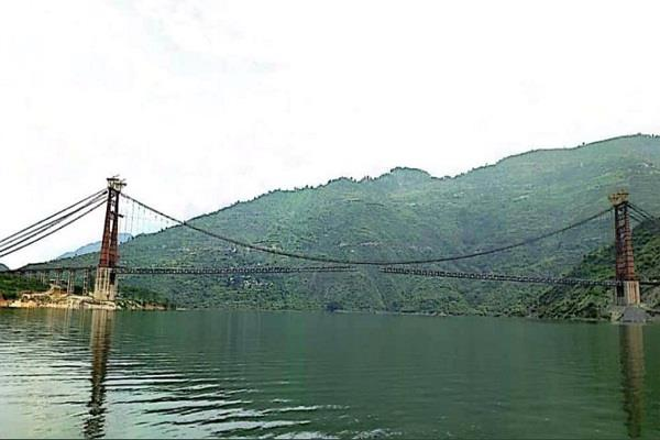 dobra chandhi bridge connecting tehri and pratapnagar is ready