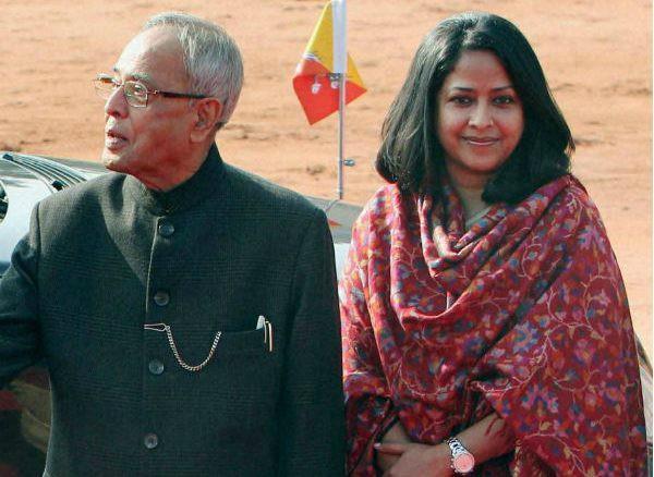 pranab mukherjee daughter sharmistha height increases in congress