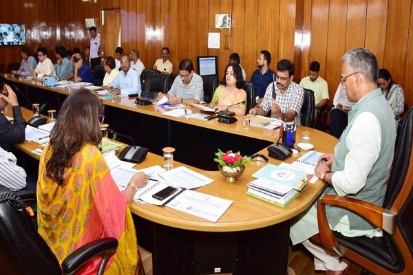 cm attended the meeting of industrial development department