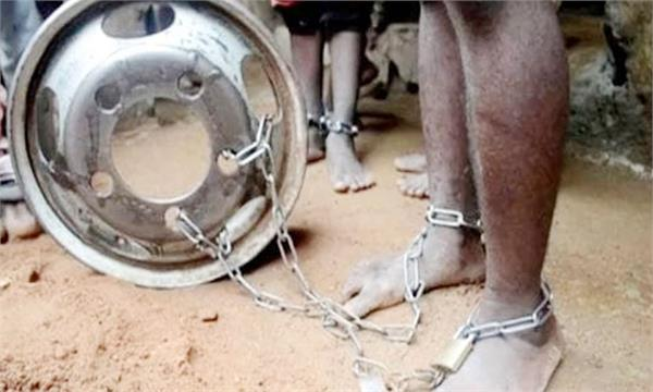 300 men and boys freed from  house of torture