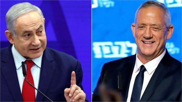 netanyahu will form government with main rival beni ganj