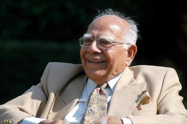 senior lawyer ram jethmalani passed away