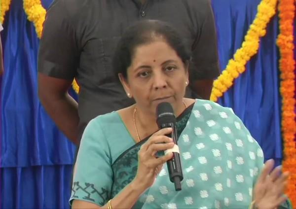 sitharaman postponed questions on economy