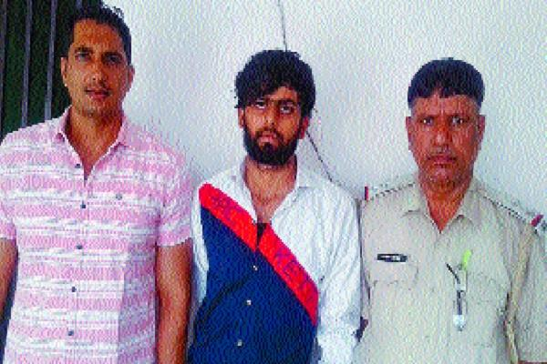 murder in plot dispute accused absconding