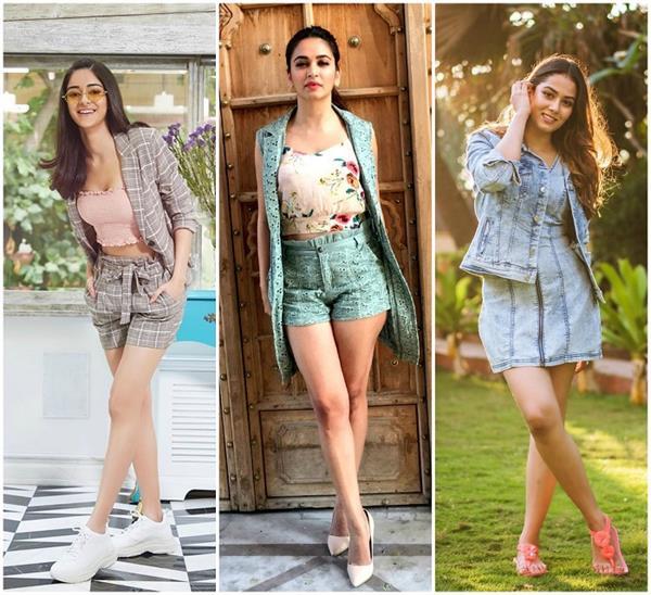 Girls Fashion: पैंटसूट का फैशन हुआ आऊट, ट्राई करें दीवाज की तरह शॉर्ट्स सूट (See Pics)