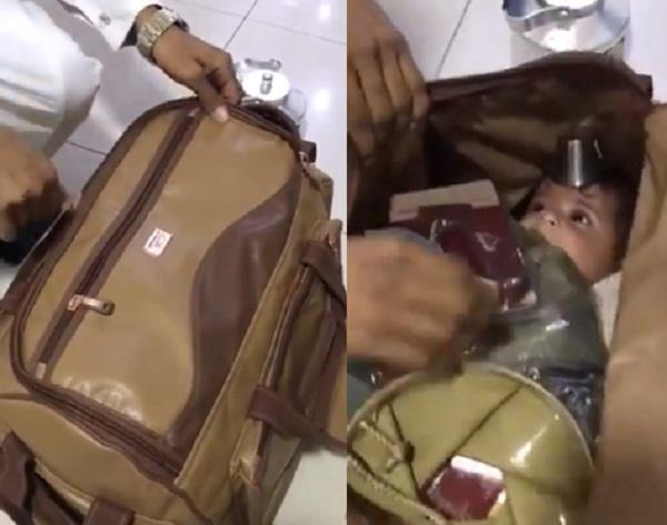 5 month old pak child kidnapped smuggled to dubai in handbag