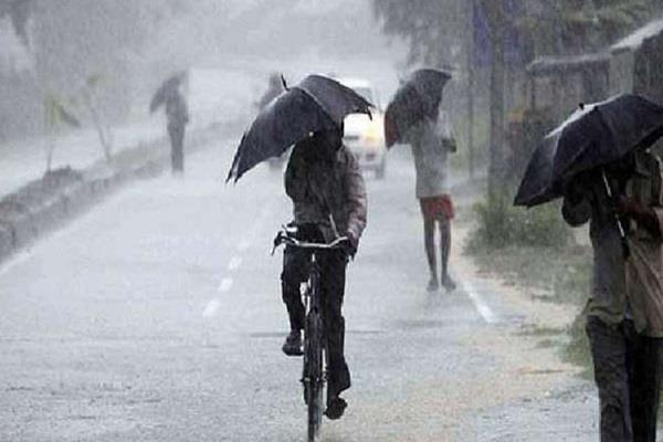 monsoon reactivated mp department warns heavy rain 16 districts