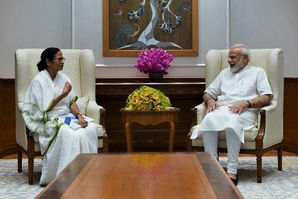 mamta met pm modi discussed various issues