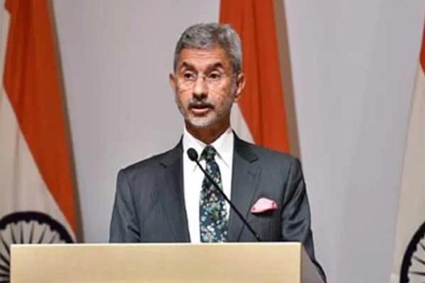 india wants a free and balanced indo pacific region jaishankar