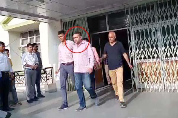 assistant drug controller sent on police remand